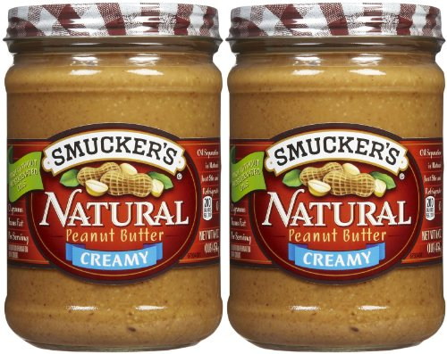 Smucker's Creamy Natural Peanut Butter - 16 oz - 2 pk ()