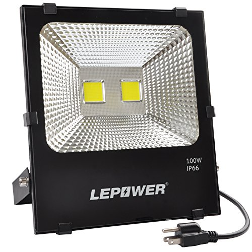 100W New Craft LED Flood Lights, Super Bright Work Lights