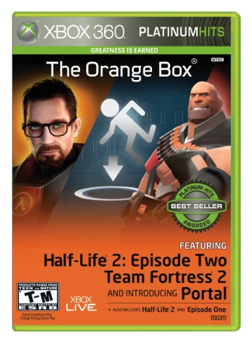 Xbox 360 Box Art (Orange Box - Xbox 360)