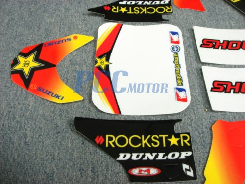 13Z DE20 GRAPHICS DECAL STICKERS HONDA CRF50