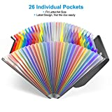 26 Pockets Accordian File Folder