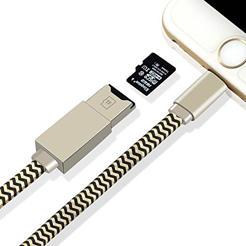 Memory Card Reader Apple lightning cable USB Cord Cable