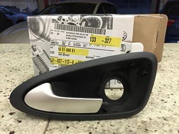 Manija de puerta interior Mango innenbetät ventosas Seat Ibiza 6J 6j1837113 a Ah1: Amazon.es: Coche y moto