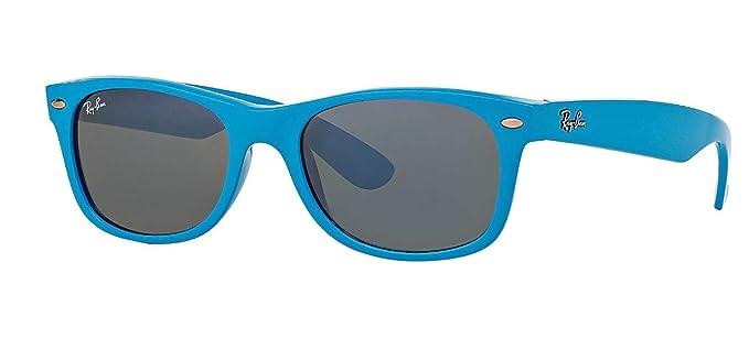 Ray-Ban RB 2132 Gafas de Sol, Azul (Shiny Azure), 52 ...
