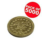Package of 5000 .900 Arcade Game Tokens