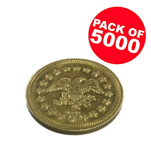 Token Arcade Games (Package of 5000 .900 Arcade Game Tokens)