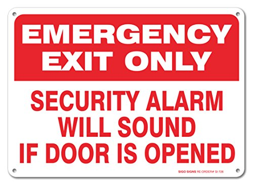 Emergency Security Opened Aluminum Outdoor