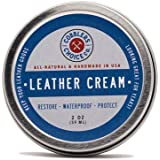 All-Natural Leather Cream - Restores and Protects Smooth Leather - Made with Triple Filtered BeesWax