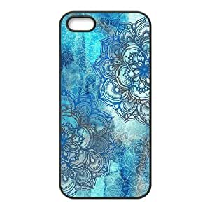 Teal Tribal Brand New Cover Case for Iphone 5,5S,diy case cover ygtg614358 by lolosakes