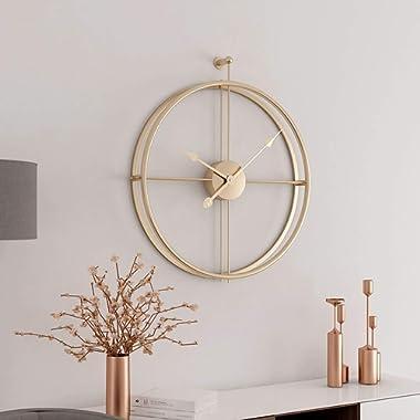 Aero Snail Champagne Gold European Minimalism Simple Creative Metal Wall Clock Fashion Modern Living Room Clocks