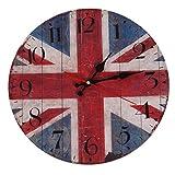 british clock - SODIAL(R) Retro British flag Arabia digital clock Home D¨¦cor