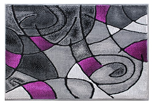 Masada Rugs Modern Contemporary Purple