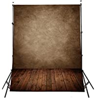 DODOING Abstract Brown Vinyl Photography Backdrops Photo Props Studio Background 5x7ft