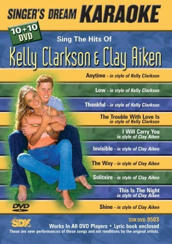 (Sing The Hits Of Kelly Clarkson & Clay Aiken (Karaoke DVD))