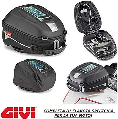 Bolsa de depósito Tanklock ST602 Givi + Brida BF36 Compatible con ...