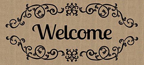 Welcome Scroll Sassafras Switch mat by Evergreen Enterprises