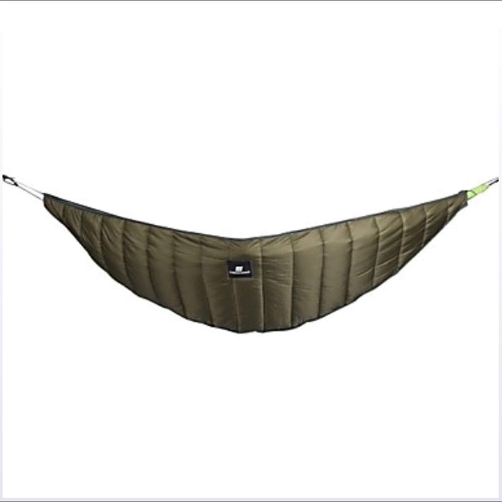 Camping Hammock Outdoor Windproof, Lightweight, Keep Warm Pure Cotton for Hiking/Camping - Army Green