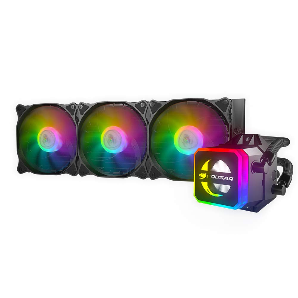 Fan Cooler Cougar Helor CPU Liquid with Addressable RGB, Cor