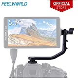 Tilt Arm for FEELWORLD F570 5.7 Inch 4K HDMI On Camera Field Monitor Mount on DSLR Stabilizer Gimbal Crane Rig