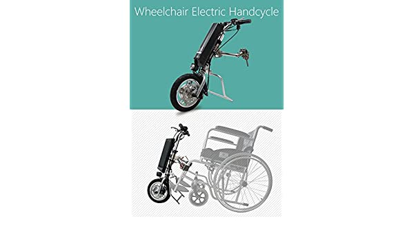 Amazon.com: Electric Handycycle kit that converts your manual wheelchair to electric wheelchair: Health & Personal Care