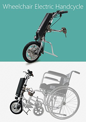 Electric Handycycle kit that converts your manual wheelch...