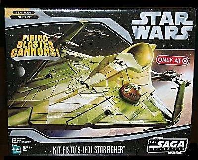 Star Wars Saga '06 Exclusive Vehicle Kit Fisto's Jedi Starfighter (Vehicle Wars Saga)