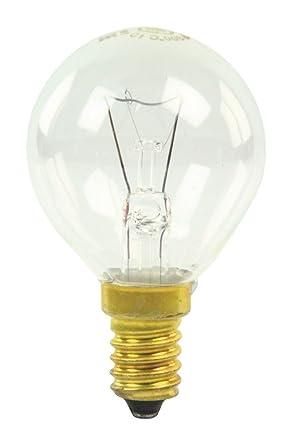 GE E14 Oven Lamp Bulb, 40W, 300C