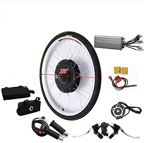 OUKANING 28 inch achterwiel achtermotor elektrische fiets kit 36 V 250 W elektrische fiets ombouwkit e-bike conversie…