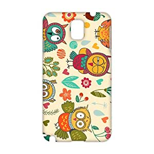 Evil-Store night owl 3D Phone Case for Samsung Galaxy s5