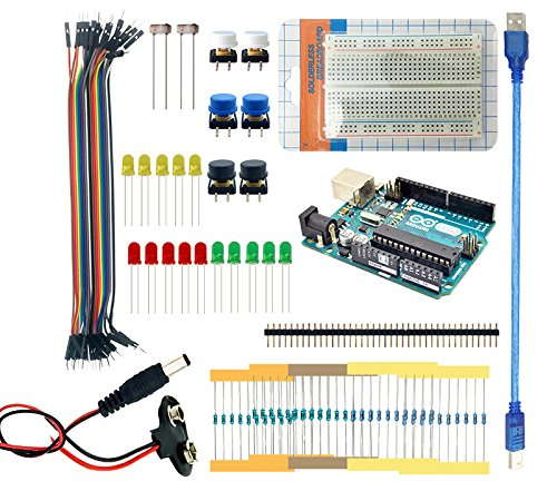 Landzo uno r starter kit with arduino breadboard