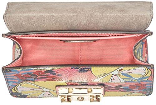 Metropolis H Mini bandoulière x Pink x Quarzo Rosa 5 Toni T Crossbody Furla B cm sac femme 8x12x16 1qw4qxd