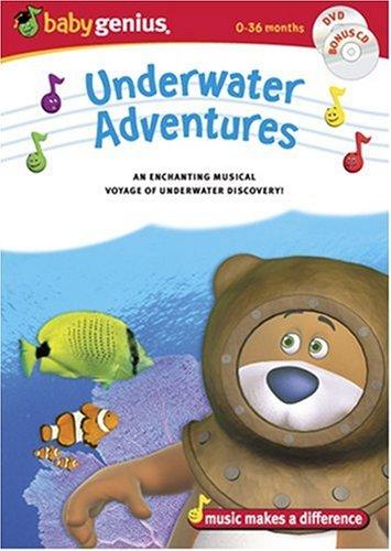 Baby Genius Underwater Adventures w/bonus Music CD