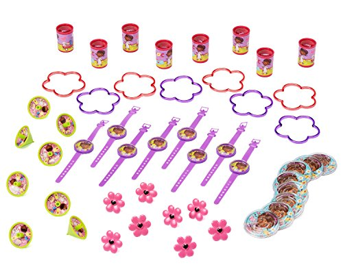 Doc McStuffins Party Favor Pack, Value Pack, Party Supplies