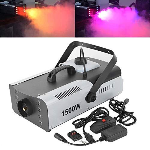 Club 340 Halloween (TC-Home 1500W Fog RGB 3in1 8 LED DJ Stage Wedding Smoke Machine Wireless)