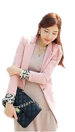 cd07813a6353b 豹柄 レオパード アニマル 袖 女性 レディース ジャケット 着こなし アウター シンプル オフィス デイリー フォーマル ビジネス スーツ