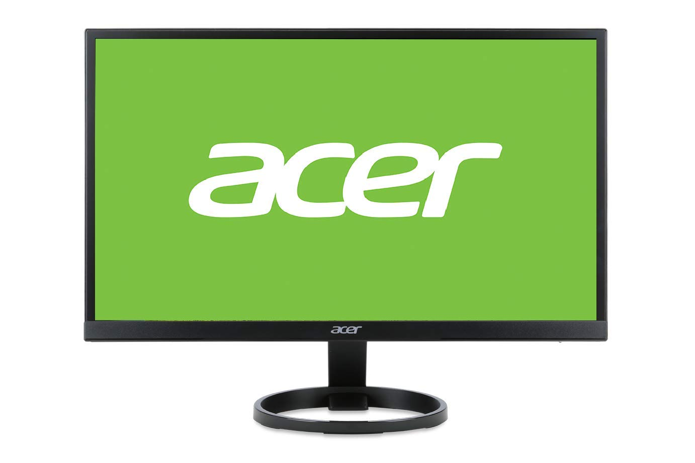 Acer R241Y 23.8-inch Full HD Monitor (IPS panel, 60Hz, 4ms, ZeroFrame, HDMI, DVI) Black