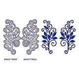 2019 Halo Metal Die Cutting Dies Handmade Stencils Template Embossing for Card Scrapbooking Craft Paper Decor by E-Scenery (I)