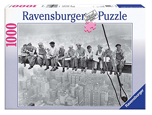 Ravensburger Lunchtime 1932, NYC 1000 Piece Puzzle