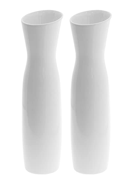 JustNile 118 Tall Modern Elegant Looking Decorative Vases Ideal For Wedding Parties Receptions Centerpiece