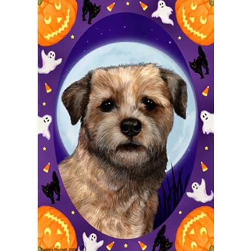 Best of Breed Halloween Howls Garden Size Flag Border Terrier