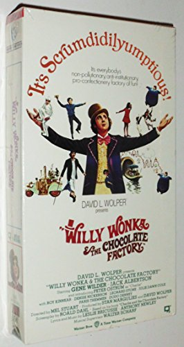 Willy Wonka & the Chocolate Factory (VHS tape)