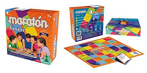 Junior Marathon Board Game Mini Edition - Maratn Junior Juego de Mesa Edicin Mini (Spanish Edition)