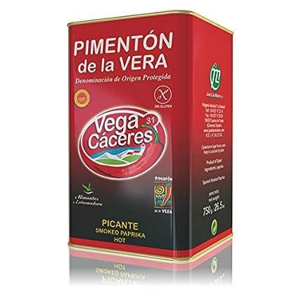Vega Cáceres – Spanish ahumado Pimentón de la Vera – 750 g ...