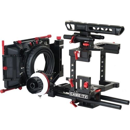 Came-TV DSLR Cage for Panasonic GH4, Sony A7s, Canon 5D Mark III Cameras (Best Cage For 5d Mark Iii)