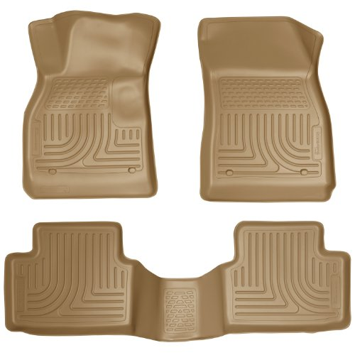 Husky Liners Front & 2nd Seat Floor Liners Fits 13-15 Mal...