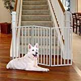 PETMAKER 80-62875-WT Wooden Pet Gate