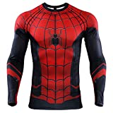 Best Compression Shirts - Spider-Man Far from Home Men's Compression Shirt 3D Review