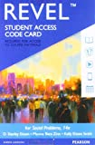 Revel for Social Problems -- Access Card (14th Edition)