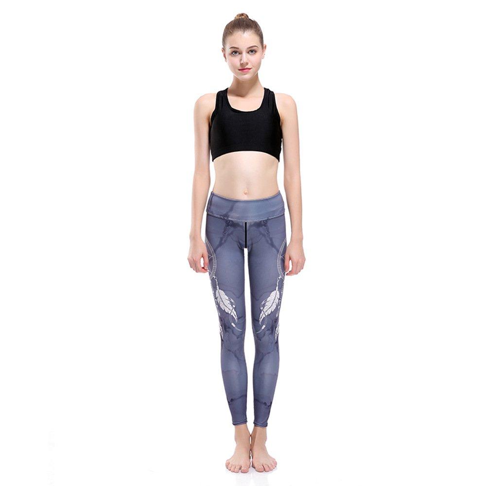 GYXYYF Sport Yoga Hosen Windspiele Super Elastische Schnell Trocknende Neun Punkte Yogahosen
