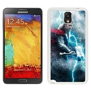 NEW Unique Custom Designed Samsung Galaxy Note 3 N900A N900V N900P N900T Phone Case With Thor The Dark World_White Phone Case